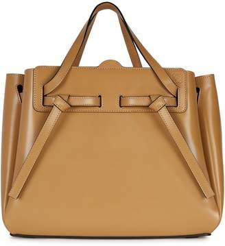Loewe Lazo camel top handle bag