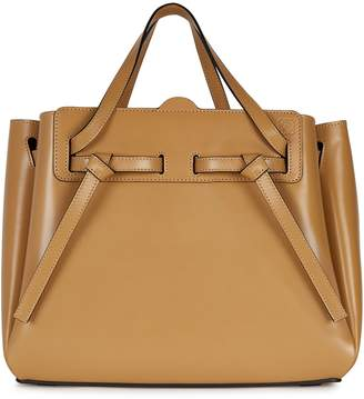 Loewe Lazo Camel Top Handle Bag