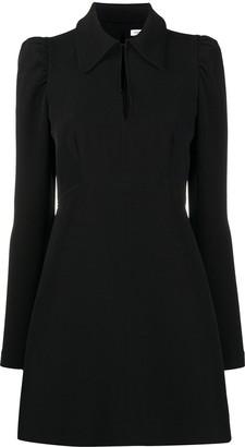 P.A.R.O.S.H. Statement Collar Mini Dress