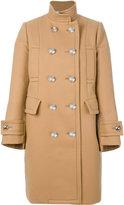 Sacai double breasted pea coat