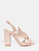 Forever New Day Knot Heel Sandals