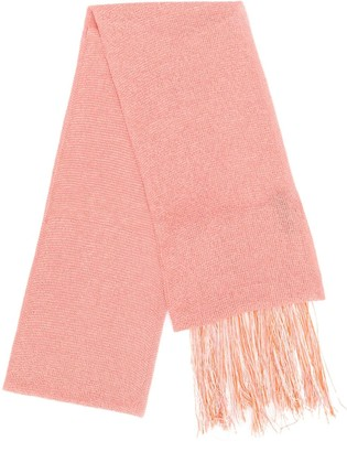 Missoni Fringed Knitted Scarf