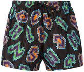 Moschino logo swimming shorts - men - Polyester - M