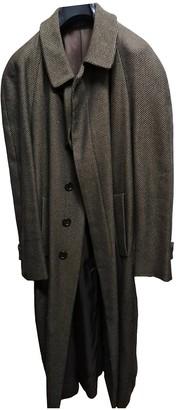Fendi Camel Wool Coats