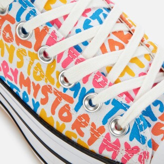 Converse Chuck Taylor All Star My Story Platform Ox Trainers - Multi