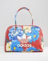 adidas Farm Print Travel Bag In Big Floral