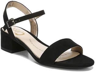 Sam Edelman Ibis Block-Heel City Sandals, Black