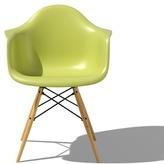 Herman Miller eames molded plastic armchair with dowel leg