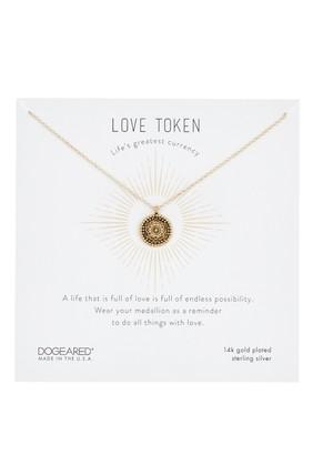 Dogeared Love Token Small Gratitude Pendant Necklace