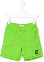 Stone Island Junior - logo patch swim shorts - kids - Polyamide-8 - 2 yrs