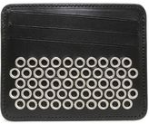 MM6 MAISON MARGIELA Maison Margiela Eyelet Embellished Card Holder