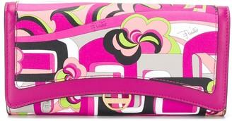 Emilio Pucci x Koche Elleboro large wallet