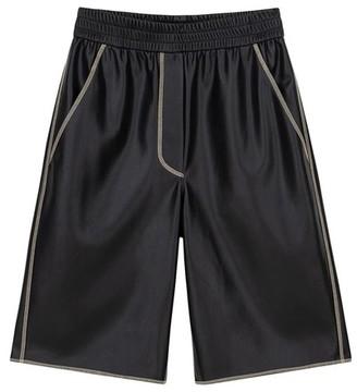 Nanushka Vegan leather Yolie shorts