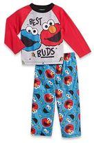 Sesame Street 2-Piece Elmo and Cookie Monster PJs