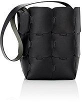 Paco Rabanne Women's 16#01 Hobo Medium Bucket Bag-Black