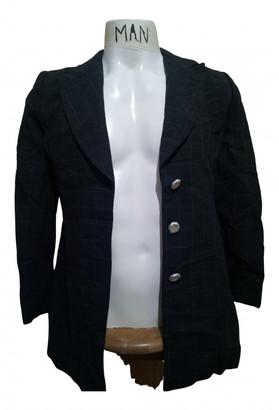 Genny Black Wool Coats
