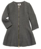 Milly Minis Girl's Emma Double-Faced Coat