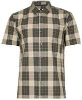 Topman Pink Checked Short Sleeve Shirt