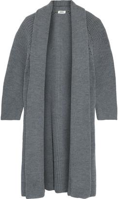 Jason Wu Pointelle-trimmed Merino Wool Cardigan