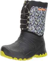 Merrell Boy's Snow Quest Lite Waterproof Ankle Boots, Black/Green