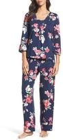 Carole Hochman Women's Floral Print Pajamas