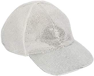 Off-White Off White CRYSTAL NET BASEBALL HAT