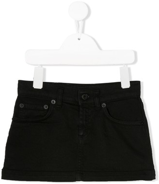 Dondup Kids Plain Mini-Skirt