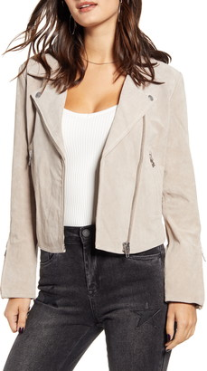 Blank NYC BLANKNYC Next Level Suede Moto Jacket