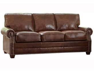 Roll Arm Leather Sofa Shop The World S Largest Collection Of Fashion Shopstyle