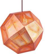 Tom Dixon Etch Shade Copper Pendant Light