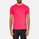 BOSS GREEN Men's Small Logo TShirt - Pink