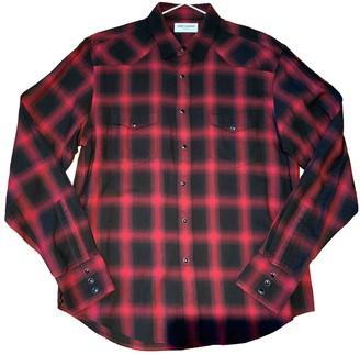 Saint Laurent Red Cotton Shirts