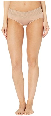 Warner's No Pinching No Problems Lace w/ Lace Hipster (White) Women's Underwear
