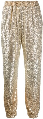 Pinko Sequin Embellished Trousers