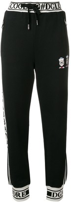 Dolce & Gabbana Logo Trimmed Track Trousers