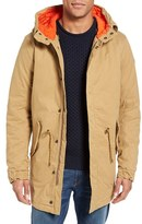 Scotch & Soda Men's Long Fishtail Parka