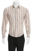 Band Of Outsiders Striped Silk Shirt