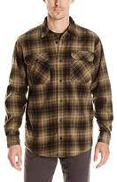 Wrangler Men's Long Sleeve Plaid Fleece Shirt