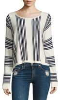 Splendid Striped Wool Blend Sweater
