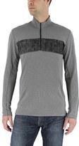 adidas Men's Classic-Fit Chest-Striped Quarter-Zip Pullover