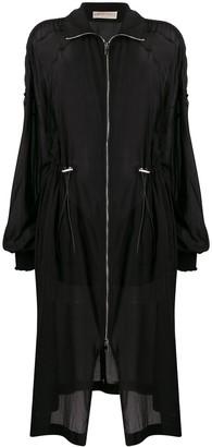 Emilio Pucci Sheer Drawstring Jacket