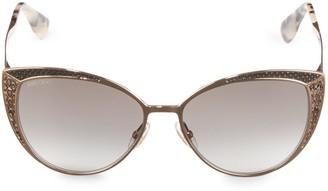 Jimmy Choo Domi 56MM Butterfly Sunglasses