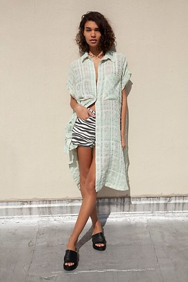 We The Free Palm Springs Plaid Tunic