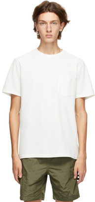 Norse Projects White Niels Pigment Dye T-Shirt
