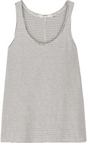 J Brand Rockwood striped cotton-blend tank