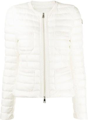Moncler Collarless Padded Jacket