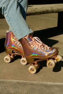 Impala Rollerskates Marawa Quad Roller Skates - Metallic UK 3 at Urban Outfitters
