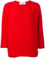Gianluca Capannolo round neck blouse - women - Silk - 40