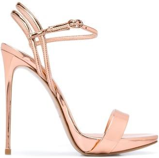 Le Silla Open Toe Stiletto Heel Sandals
