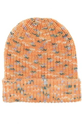 M Missoni Variegated Brioche-knitted Wool Hat - Womens - Pink Multi